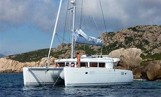 2011 Lagoon 450 Catamaran Charter St Martin British Virgin Islands