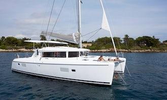 Charter This 8 People Lagoon 420 Catamaran Charter in St Martin British Virgin Islands