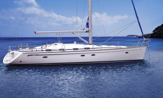 Bavaria 50 Sailing Charter St Martin British Virgin Islands