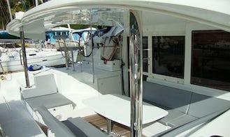 Spacious Lagoon 400 Catamaran for Charter in St Martin British Virgin Islands