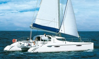 Lavezzi 40 Catamaran Charter in St Martin British Virgin Islands