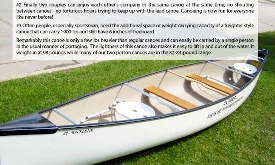 Canoe Rental In Winnipeg Canada (4 People)