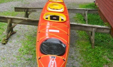 Trapper Expedition Kayak Rental in Sweden,