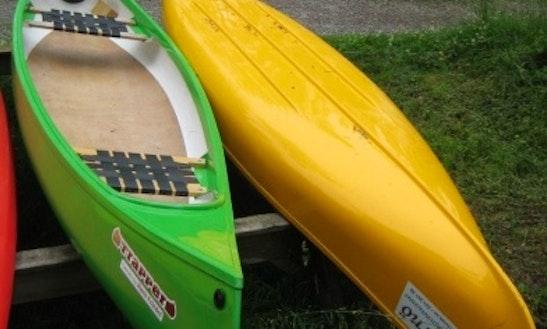 Trapper Vulture Canoe Rental Sweden