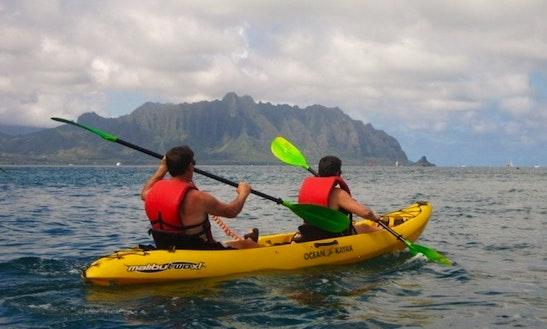 Tandem Plastic Sea Kayak, Courtenay, Bc