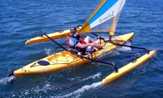 Single Adventure Island Hobie Kayak Rental, Courtenay, Bc