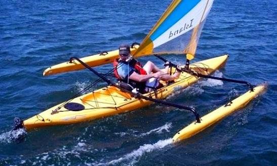 Single Adventure Island Hobie Kayak Rental, Courtenay, Bc
