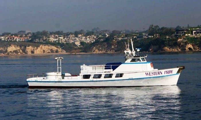 """Newport, CA, 99 Person Fishing Boat """"Western Pride"""""""
