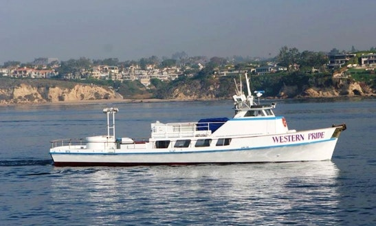 Newport, Ca, 99 Person Fishing Boat