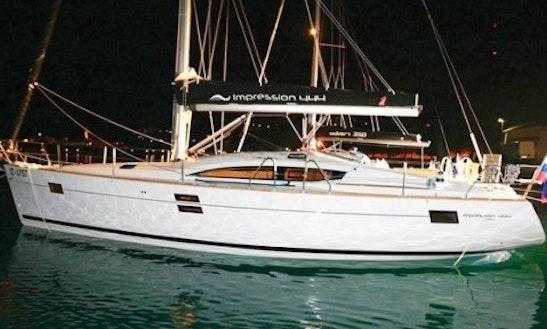 Charter Elan 444 Impression (3 Cabin)  Sailing Yacht In Croatia
