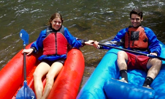 Whitewater Inflatable Kayak Rental In Provo