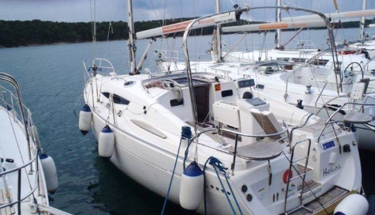 Elan 344 Impression Sailing Yacht Charter In Croatia