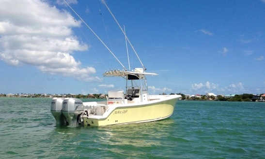 Cudjoe Key Fishing Charter On 28' Mckee Craft Freedom Boat With Capt. Andrew