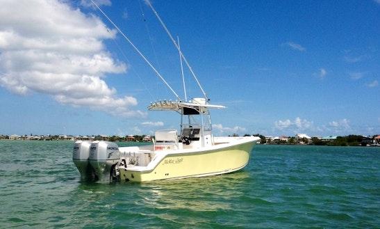 Cudjoe Key Fishing Charter On 28' Mckee Craft Freedom Boat With Capt. Andrew