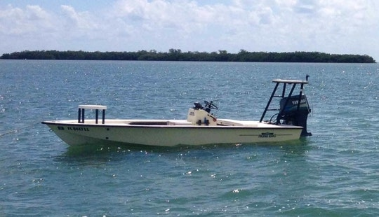 Florida Key Fishing Charter On 16' Silverking Boat With Captain Andrew