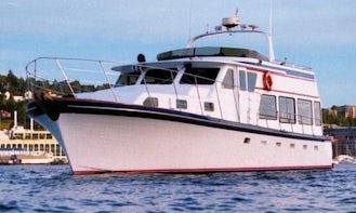 50ft Charter Yacht Seeker in Seattle, Washington
