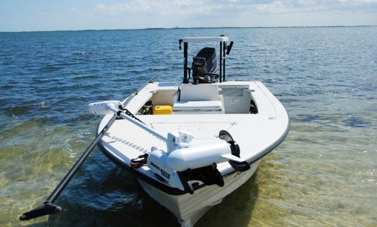 16' Center Console Charter In Titusville, Florida