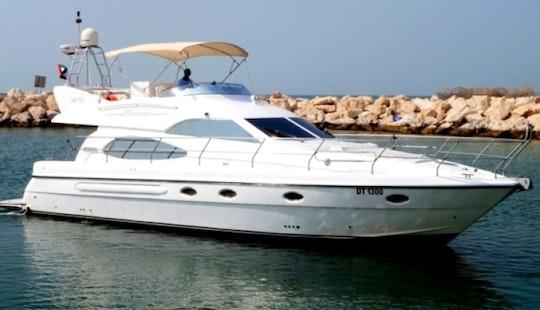 Charter 50ft As Marine Flybridge Motor Yacht In Dubai, Uae