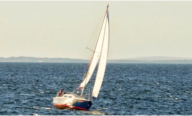 22ft Catalina Daysailer Boat Rental in Montauk, New York