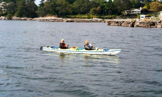 Unguided 2-person Kayak Trip To Victoria's Upper Harbour In British Columbia