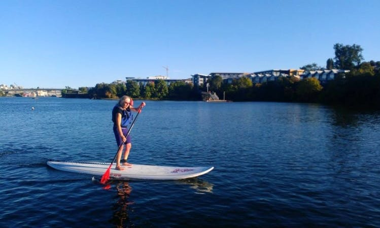 Rent a SUP in Victoria's Upper Harbour