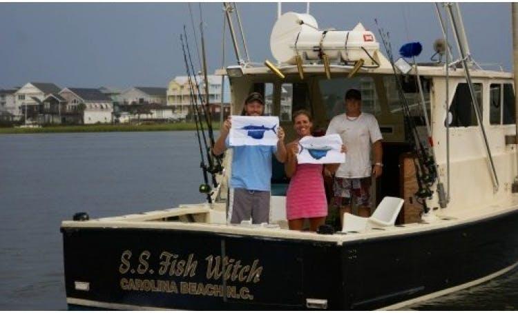 "48' ""S.S. Fish Witch"" Sport Fisherman In Carolina Beach, North Carolina"