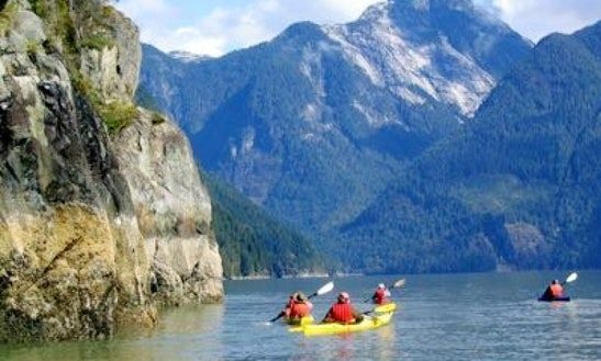 British Columbia-cortes Island Double Sea Kayak Rental
