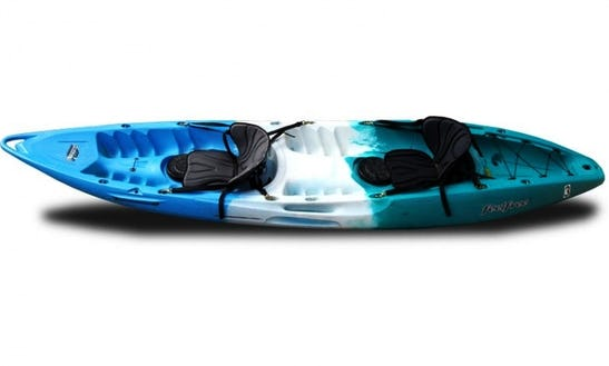 Rent Feel Free 2 Person Sit On Top Kayak-- Gemini On Lake Powell
