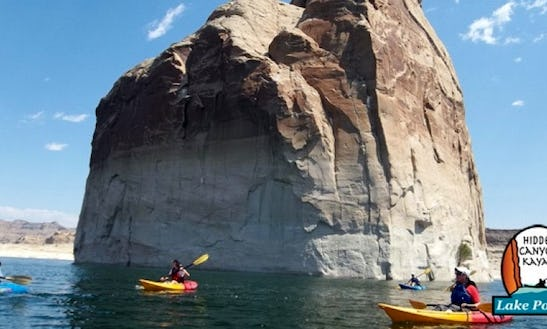 Guided Kayak Tour On Lake Powell