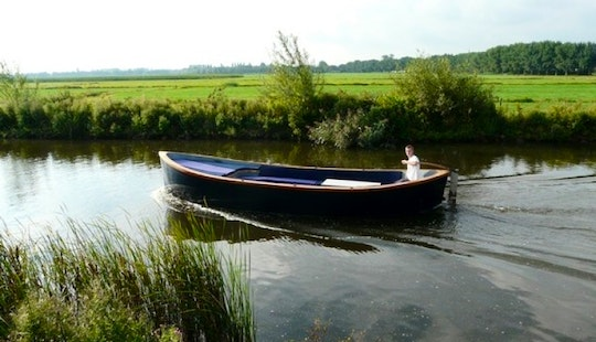 Rent Longboat Boreas In The Netherlands