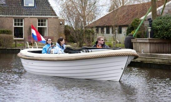 Charter Longboat Sloop 685 In The Netherlands