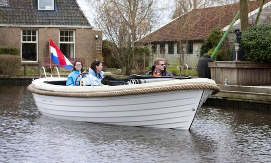 Charter Longboat Sloop 685 In The Netherlands