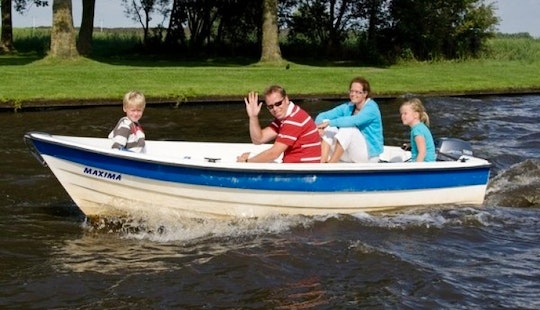 Rent Motorboat In The Netherlands