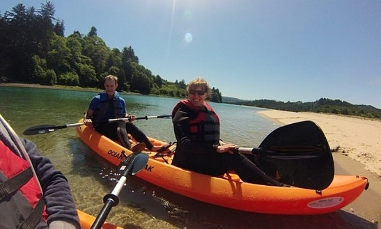 Rent A Tandem Kayak In Lincoln City
