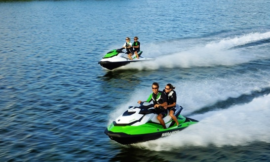 Rent A 130 Hp Sea Doo On Okanagan Lake