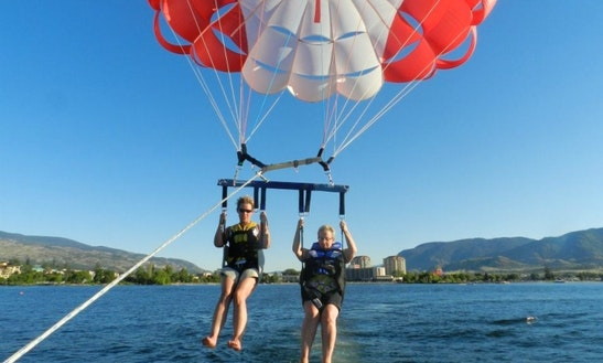 Parasailing For 1, 2 Or 3 People On Okanagan Lake