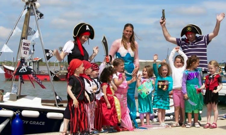 Lady Grace Boat Trips from West Mersea