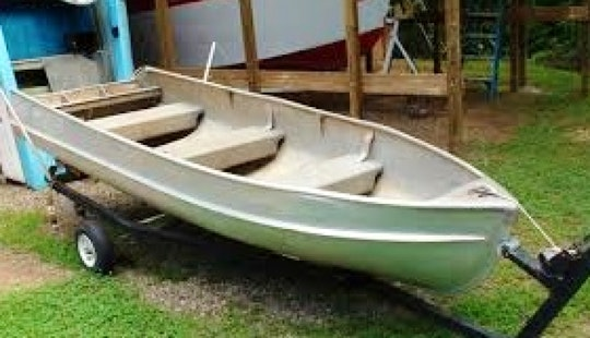 Rent A Row Boat For 3 Person On Kentucky Lake