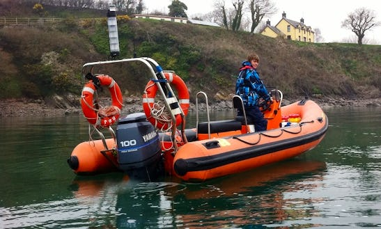 Humber Destroyer 5.3 Rigid Inflatable Boat In Wales