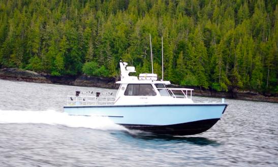 Salmon Fishing Charters In Port Hardy, British Columbia
