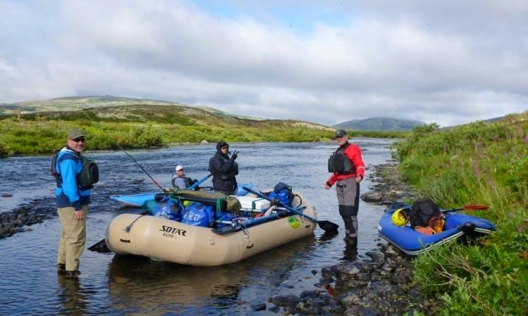 14' Sotar Elite Self Bailing Raft Comprehensive Rental
