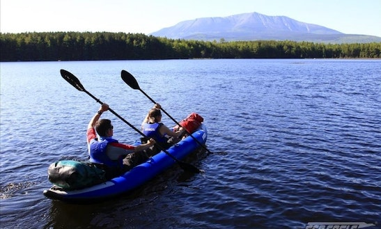 Explorer Inflatable Kayaks Ready To Rent In Happy Valley, Oregon