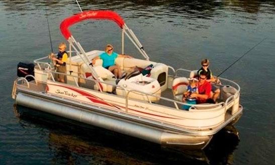 Enjoy  Osprey, Florida On 21' Pontoon Boat