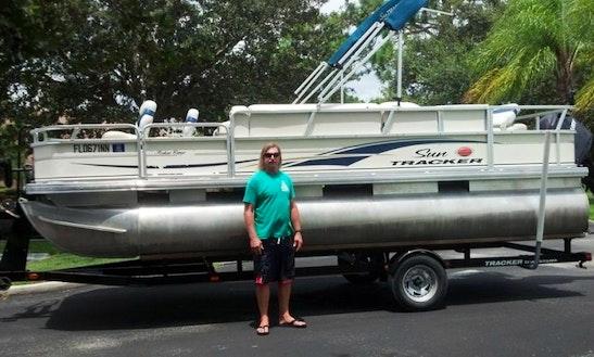 Rent 23' Pontoon Osprey, Florida