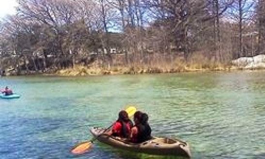 Tandem Or Fishing Kayak Rental In San Antonio