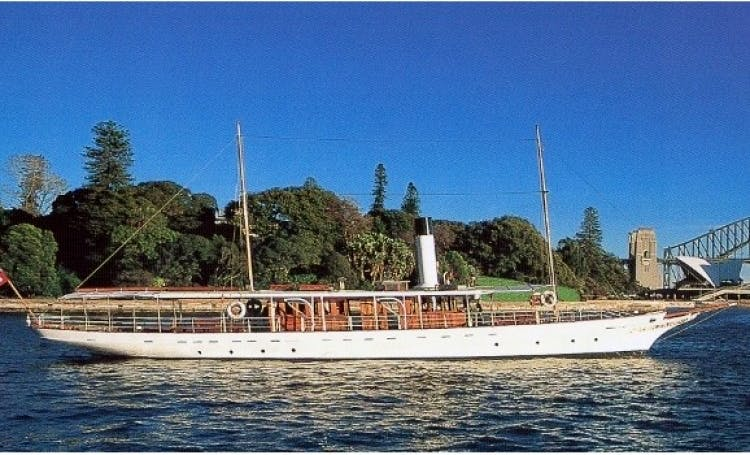 Experience Melbourne on Steam Yacht Ena