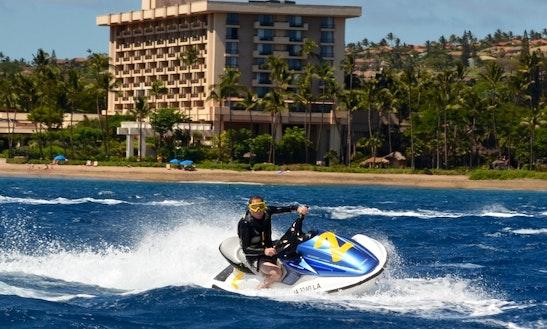 Honda Jet Ski Ride In Maui, Hawaii