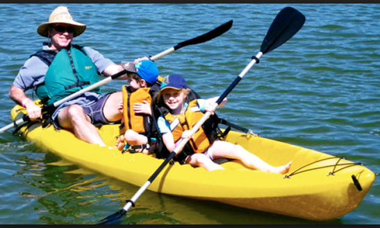 Kayak Rentals Three Person Kayak Rental