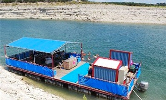 100' Custom Pontoon In Lake Travis Texas, United States
