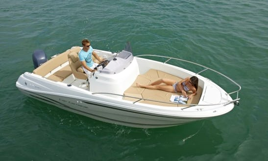 Rent Jeanneau Cap Camarat 6.5 Power Boat In Cogolin